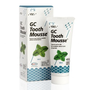 GC Tooth Mousse Mint 35 ml – remineralizująca pasta do zębów z kompleksem Recaldent