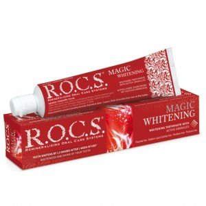 Pasta wybielająca Rocs Magic Whitening 60ml