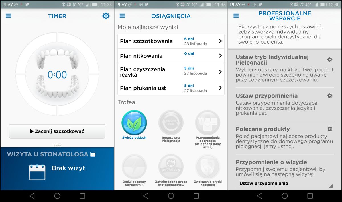 aplikacja od oralb