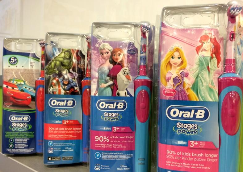 szczoteczki dla dzieci oralb